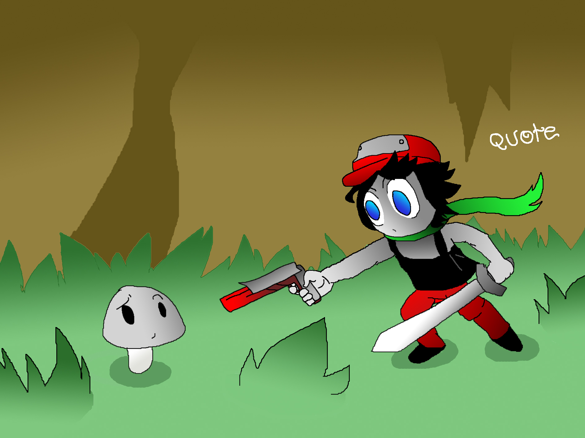 Quote Cave Story By GraphShadow