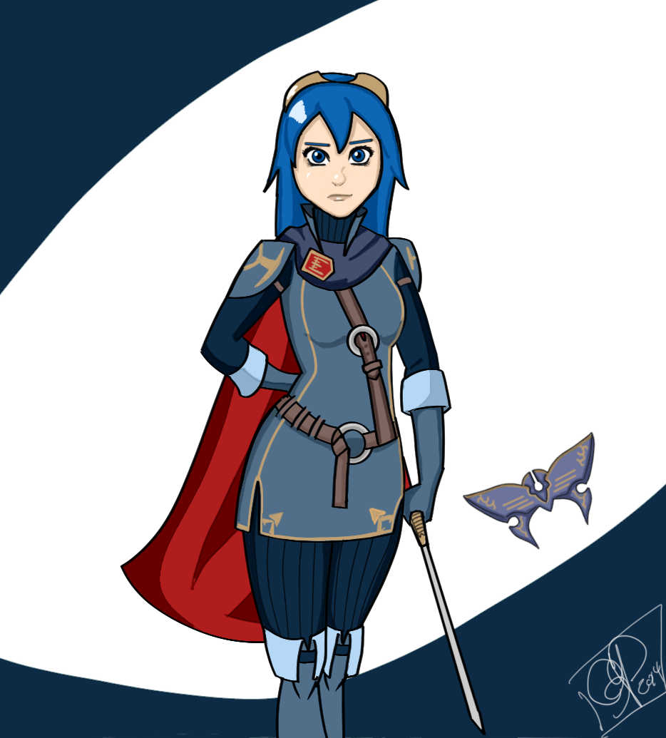 Super Smash Hype: Lucina by SeminarComics on DeviantArt