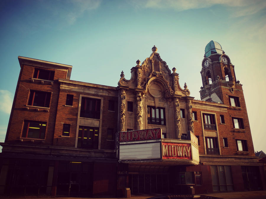 Old Midway Theater by XxLonerEyesxX