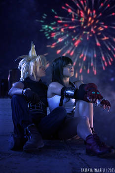 Cloud and Tifa - The Promise