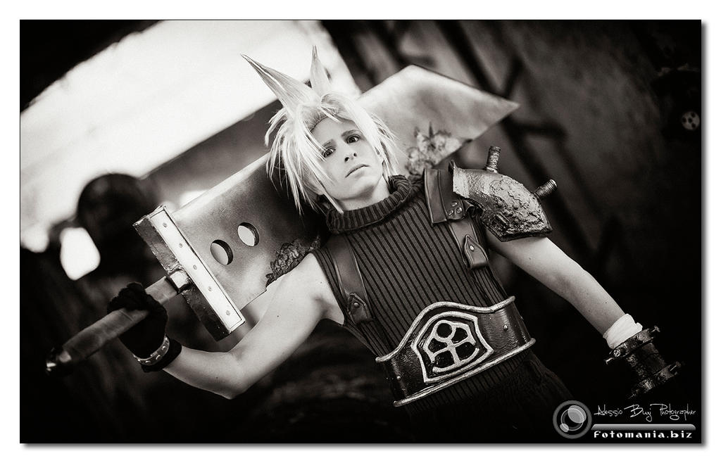 Cloud Strife - Ex-SOLDIER by XenoLink