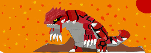 *OLD AS BALLS* Groudon
