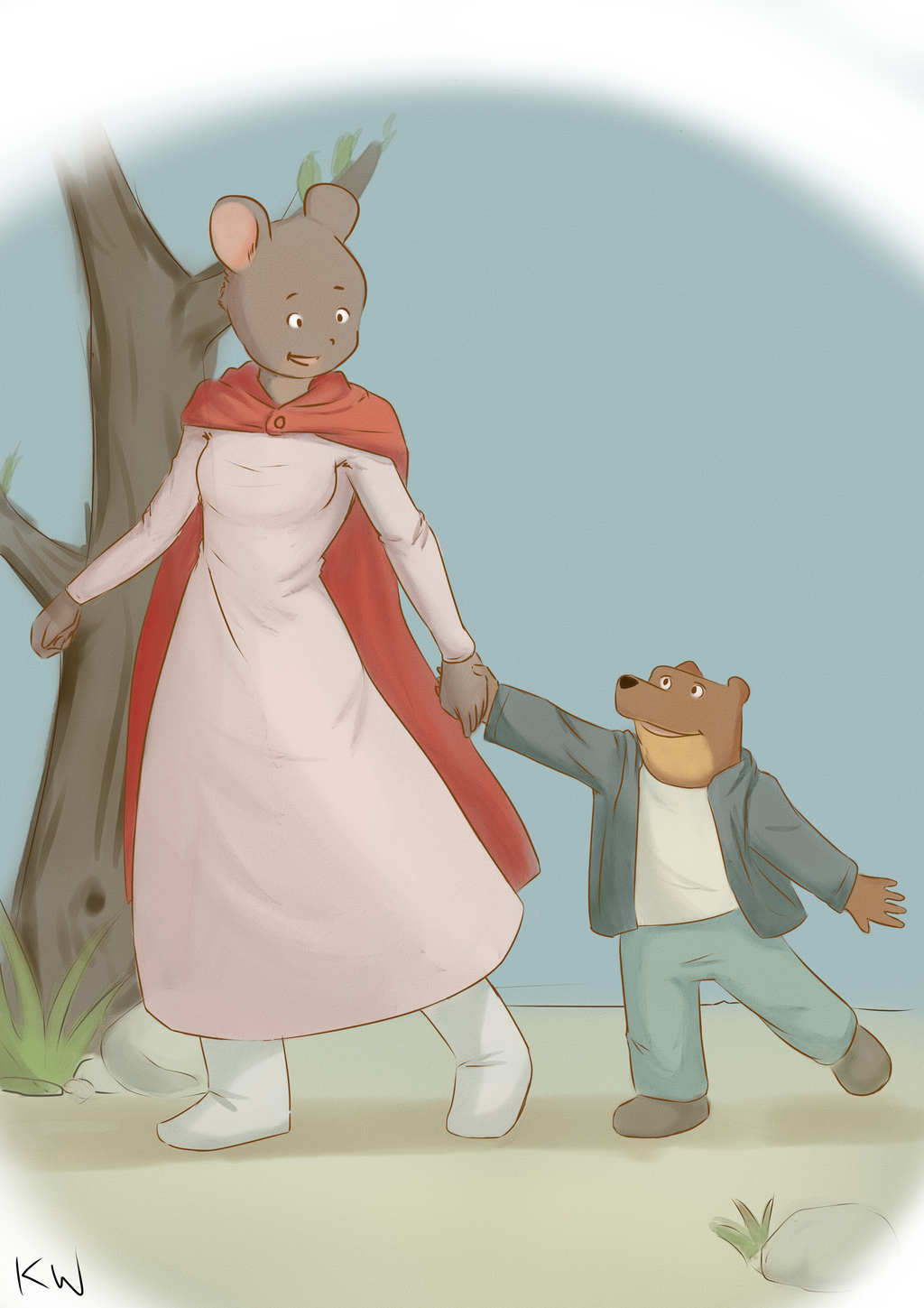 Ernest And Celestine By 0tanichan On Deviantart