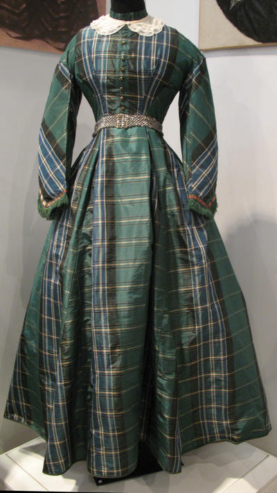 Green Victorian Dress Stock by Avestra-Stock