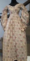 Flowery Victorian Dress II