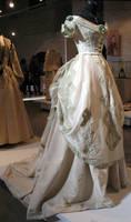 White Victorian Dress Stock