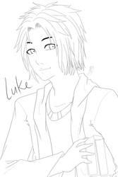 OC WIP - Luke by purkles