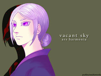 Vacant Sky - Pale Shade by purkles