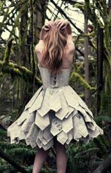 Paper Dress Back
