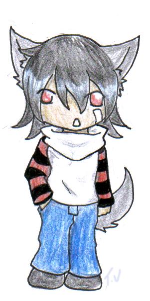 Chibi Wolf Boy By Inkblot-wolf On DeviantArt