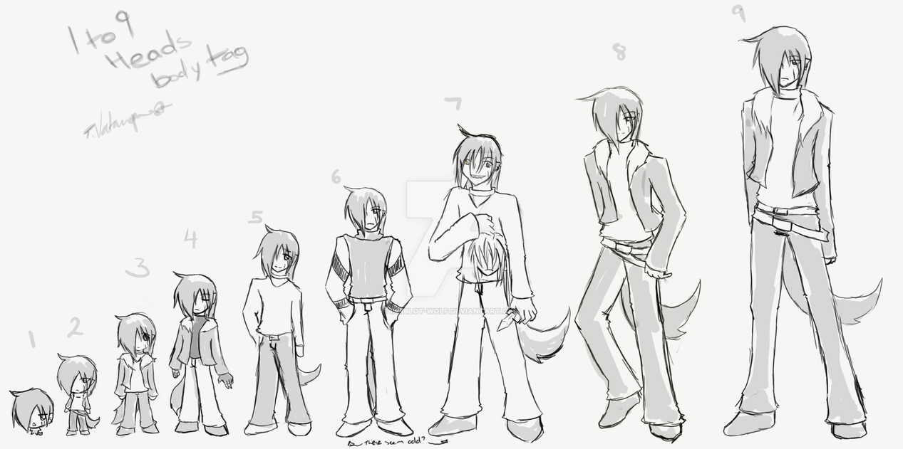 6 Foot Tall Anime Characters : Heads tall tag by inkblot wolf on deviantart