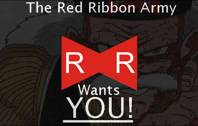 The Red Ribbon Army Wants YOU