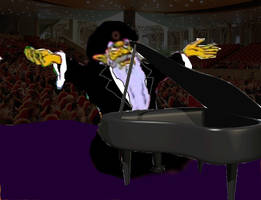 Gwonam The Pianist by Rubber-Band-Of-Doom