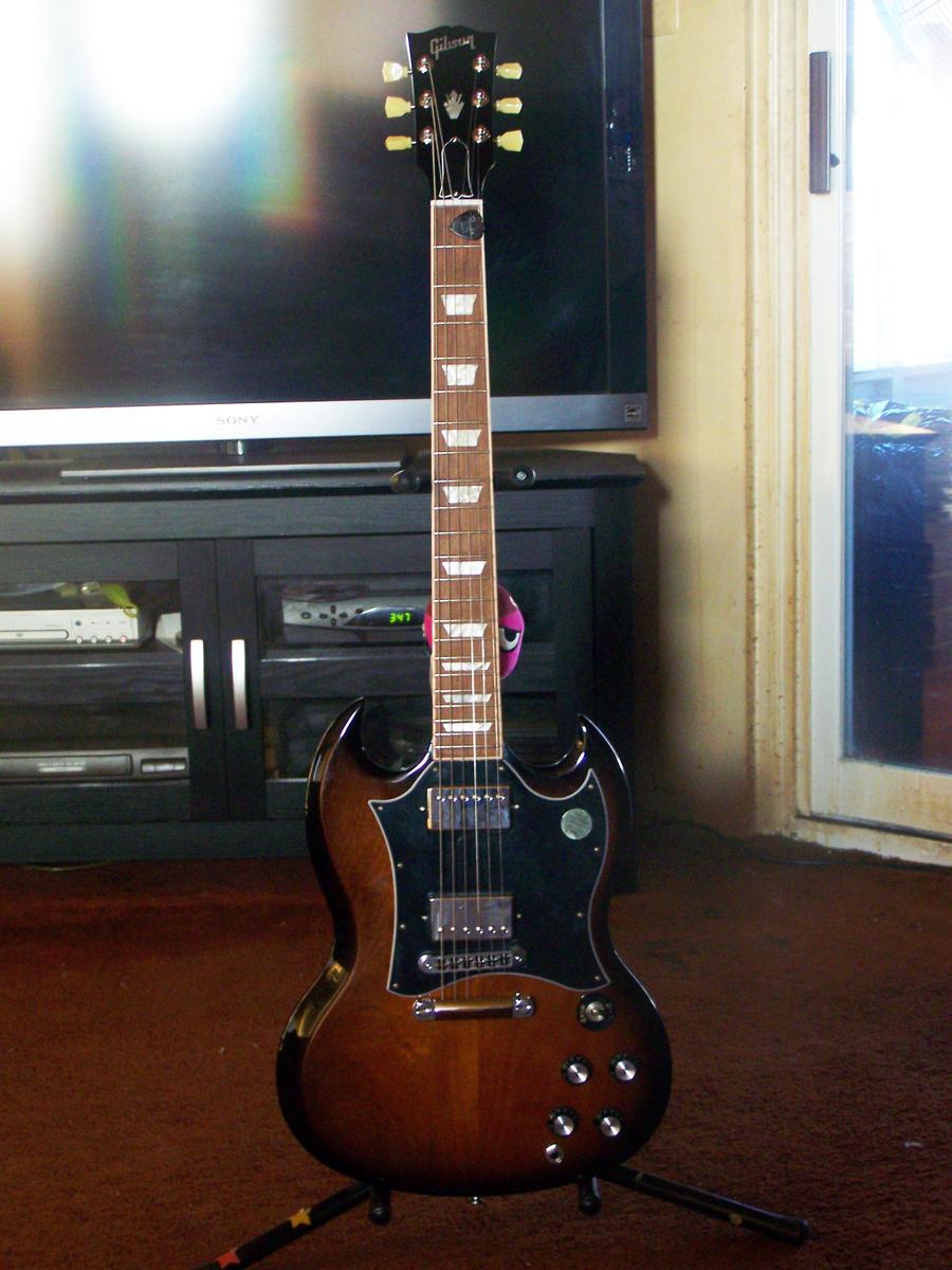 Black Sabbath Tribute Gibson SG Gothic Guitar Iommi ...