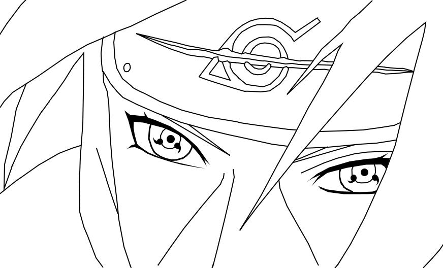 Itachi Uchiha - Lineart by 3spn4life on DeviantArt