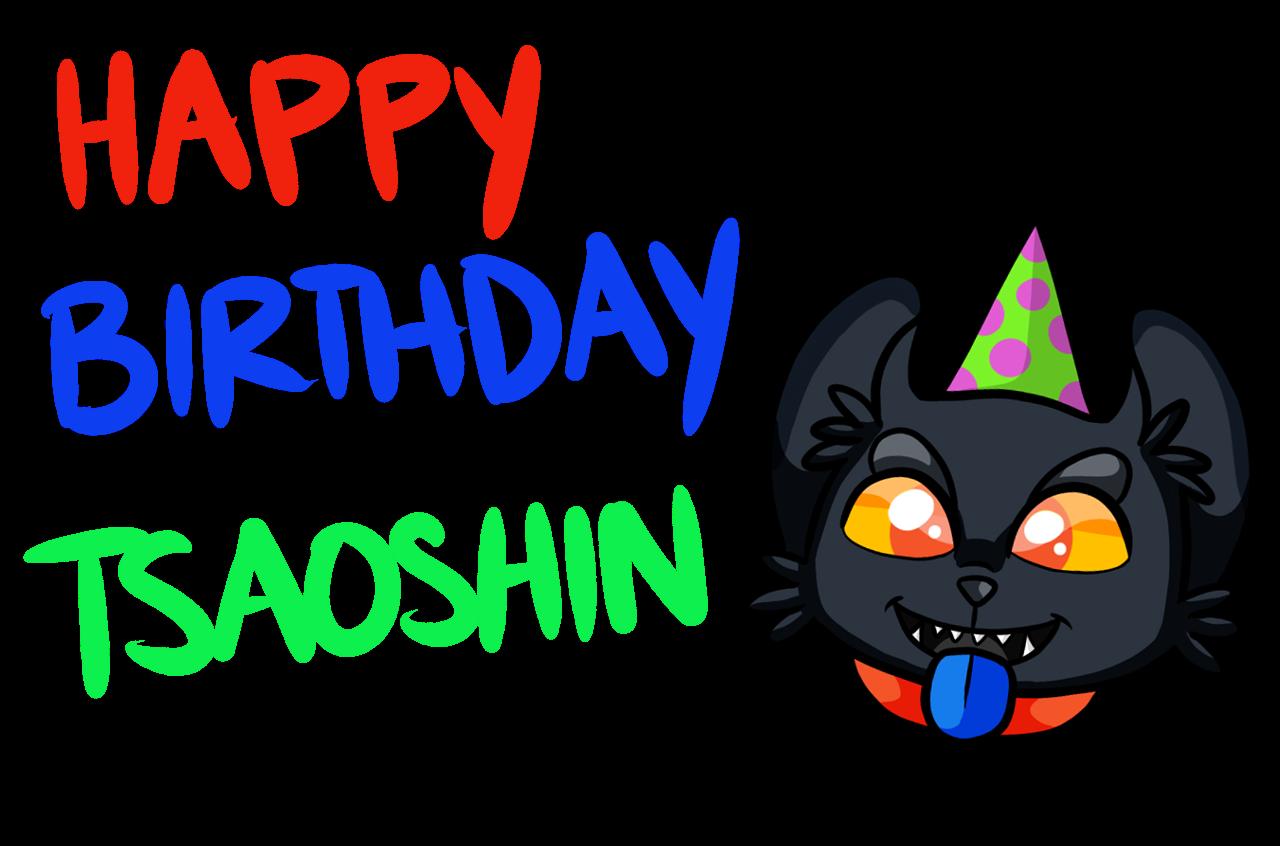 Gift: Happy Birthday Tsaoshin by iheartjapan789