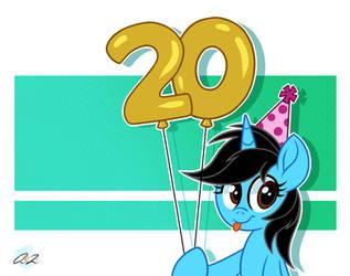 20th Birthday yay by iheartjapan789