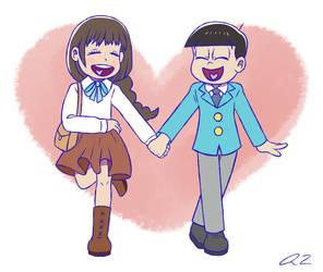 Gift: Jyushi And Homura