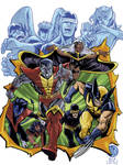 Giant Size X-Men cover recreation