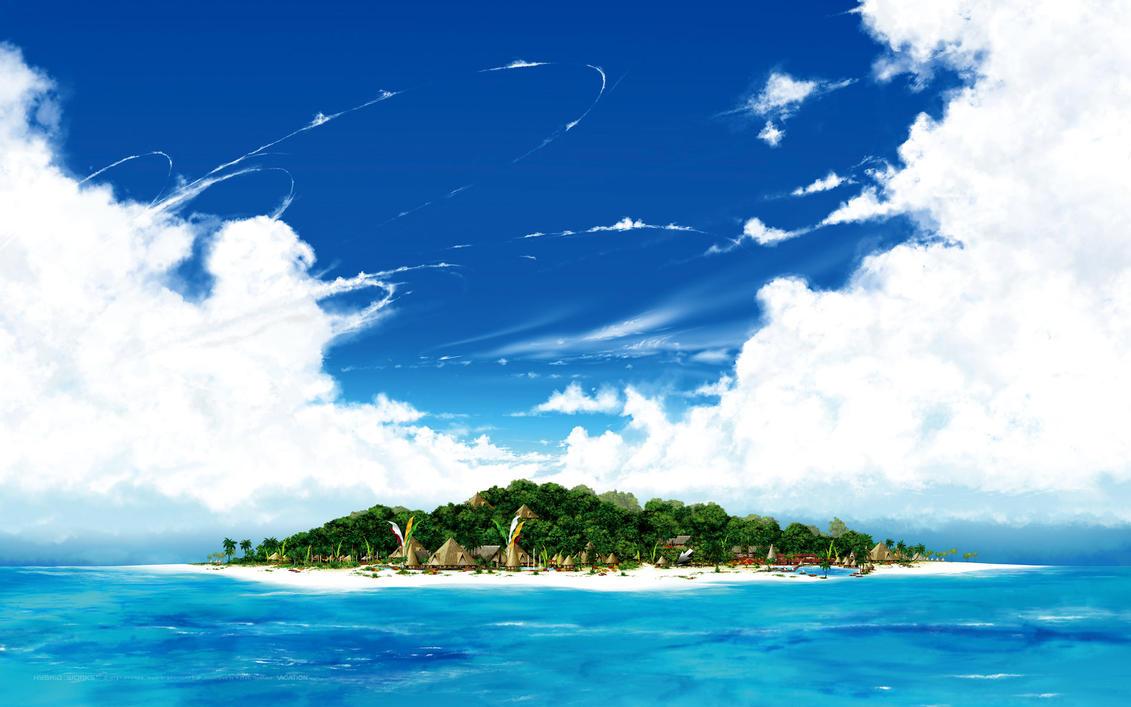 Desktop Vacation - Daytime by HYBRIDWORKS