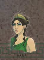 Olympians: Hera by Fedini