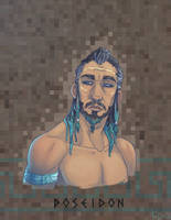 Olympians: Poseidon by Fedini