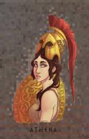 Olympians: Athena by Fedini