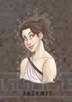 Olympians: Artemis by Fedini
