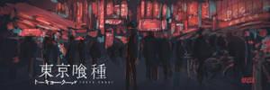 Tokyo Ghoul by adriabie