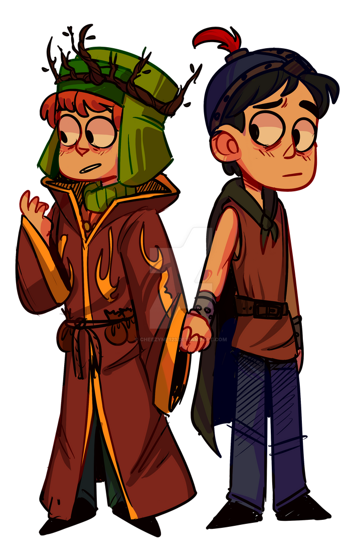 stan and kyle by cheezyme123 on deviantart