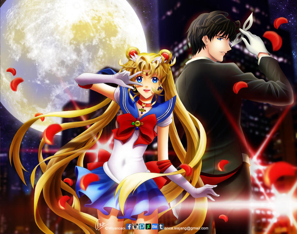 Sailormoon the characters