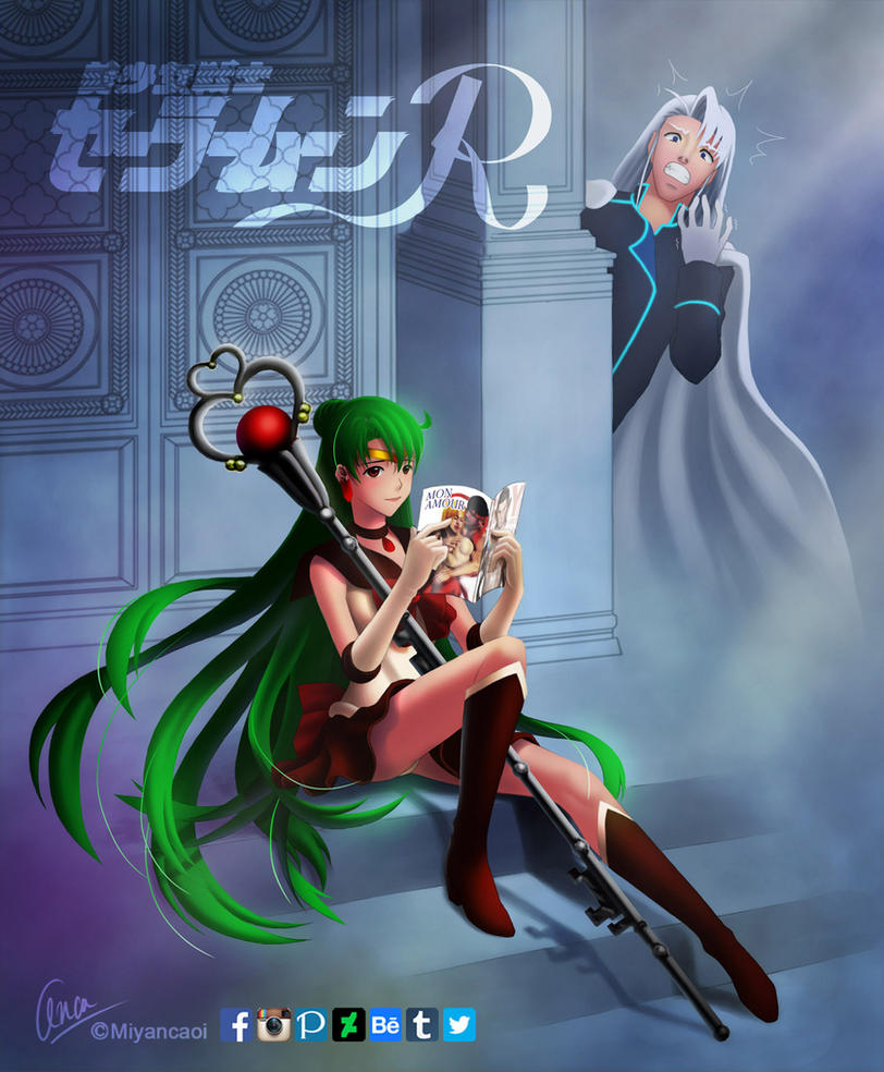 COMMISSION : SAILOR PLUTO by Miyancaoi