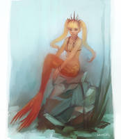 Mermaids this time by sachcell