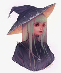 witch doodle
