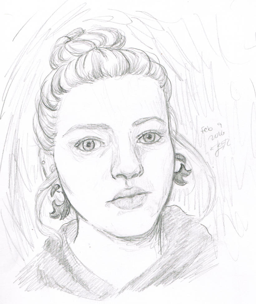self portrait by bluelippedbrelly