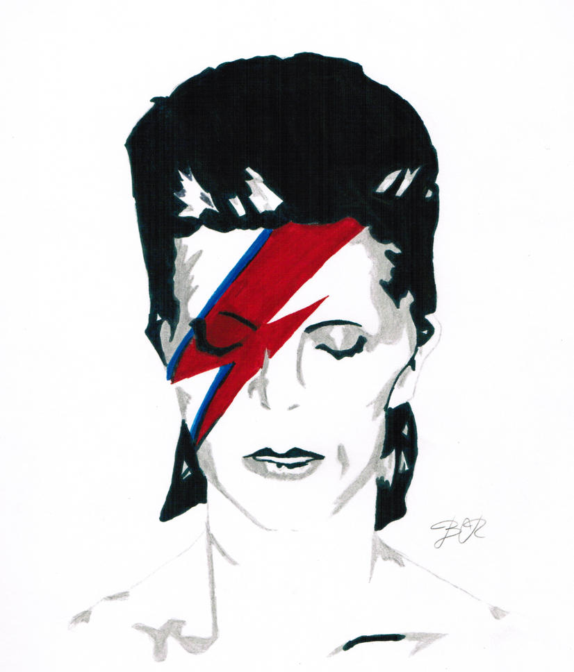 Ziggy Played Guitar by bluelippedbrelly