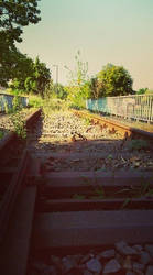 I will wait for the train .....