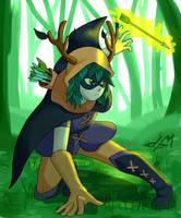 Huntress Wizard by Dapogiman