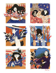 Girls by LiskFeng