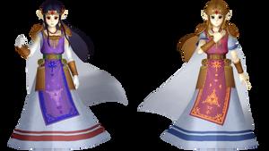 MMD || Princess Hilda and Princess Zelda (WIP)