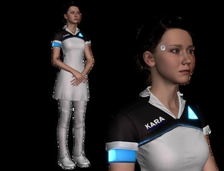 MMD || Kara (Detroit Become Human) || WIP
