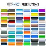 60 Gradient Buttons PSD