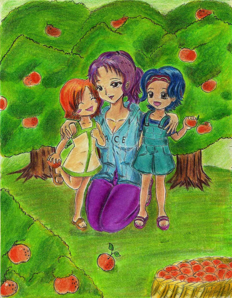 Nami-chan_family by Hanatsuki-Ai