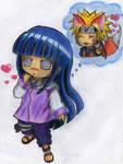 NaruHina-I love cute Kyubi