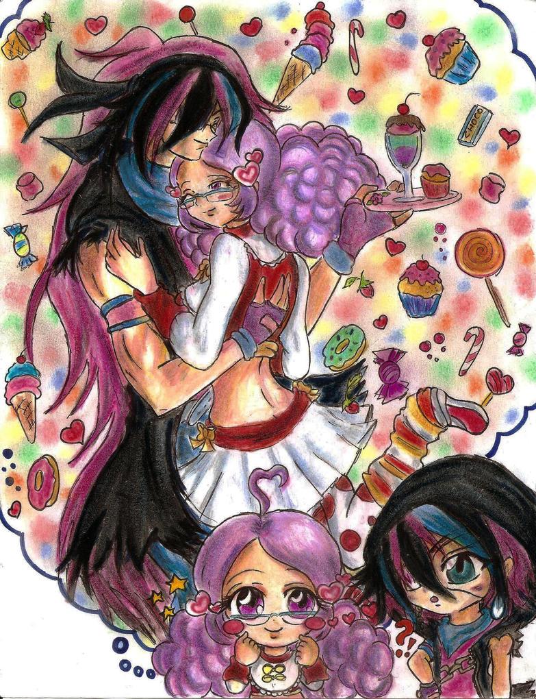 Two loves of Cottonella by Hanatsuki-Ai