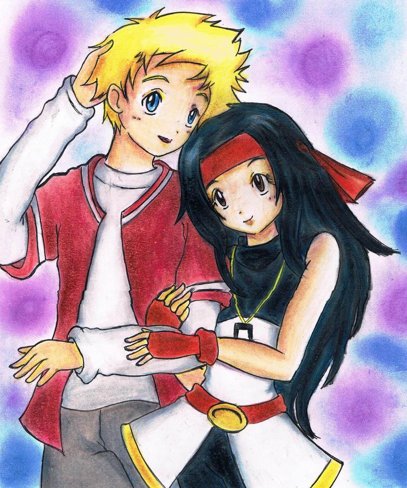 ArikaxWillis_Lovely-coupleFromklawdzilla:3 by Hanatsuki-Ai