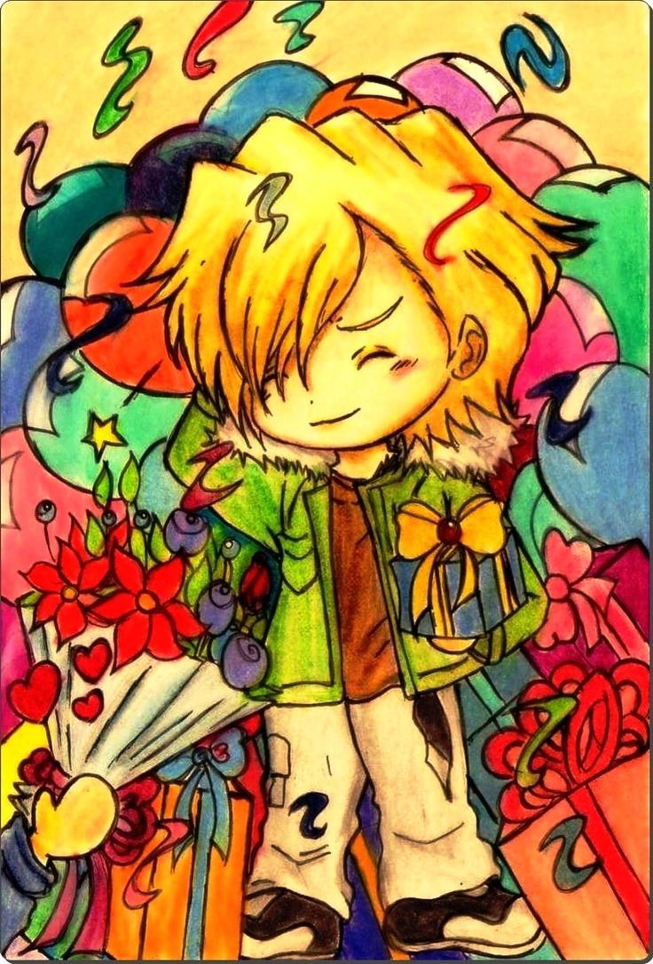 Buon Compleanno Dino-san!4-02-16 by Hanatsuki-Ai