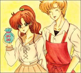 My OTP- Makoto y Motoki**