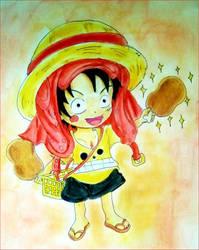 Happy birthday, Luffy!