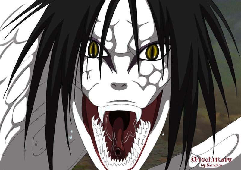 Dark,Monster&Demon Orochimaru_snake_form_by_sarangheorochimaru-d30gf3c